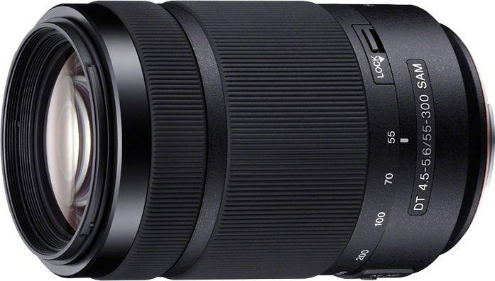 Sony 55-300mm 4.5-5.6 DT SAM schwarz (SAL-55300)