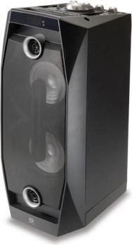 Conceptronic Wireless Bluetooth Disco Speaker schwarz (CSPKBTBASSDISCOB)