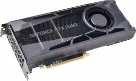 EVGA GeForce RTX 2080 SUPER Gaming, 8GB GDDR6, HDMI, 2x DP, USB-C (08G-P4-3080-KR)
