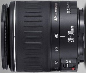 Canon EF 28-90mm 4.0-5.6 II black (4676A003/7988A004)