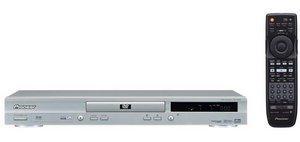Pioneer DV-545-S srebrny