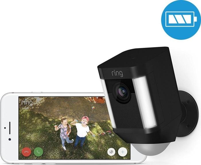 Ring Spotlight Cam, mit Akku, schwarz (8SB1S7-BEU0)