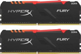 Kingston HyperX Fury RGB DIMM Kit 32GB, DDR4-3200, CL16-20-20 (HX432C16FB4AK2/32)