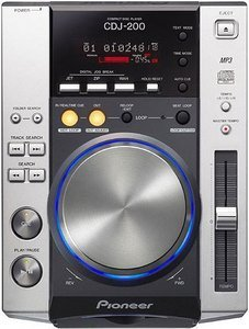 Pioneer CDJ-200 CD turntable silver