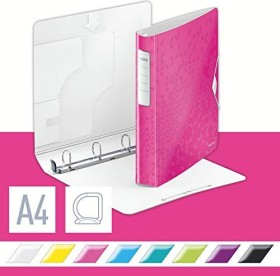 Leitz Active WOW SoftClick Ringbuch, pink (42400023)