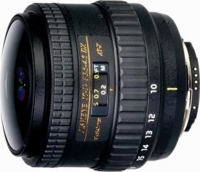 Tokina AT-X 10-17mm 3.5-4.5 AF DX NH Fisheye für Canon EF schwarz (T5101711)