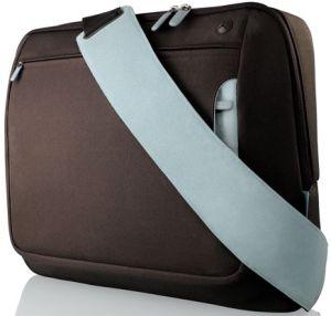 "Belkin Kurier messenger bag 17"" brown/light blue (F8N051eaRL)"