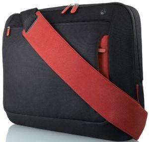 """Belkin Kurier messenger bag 17"""" black/red (F8N051eaBR)"""