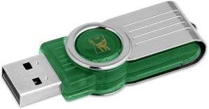 Kingston DataTraveler 101 G2 grün 64GB, USB-A 2.0 (DT101G2/64GB)
