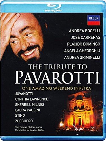 The Tribute to Pavarotti (Blu-ray) -- via Amazon Partnerprogramm
