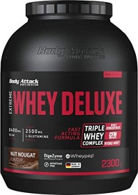 Body Attack Extreme Whey Deluxe Protein Nuss/Nougat 2.3kg