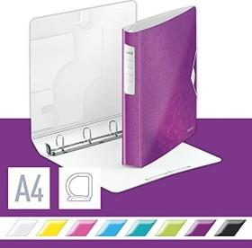 Leitz Active WOW SoftClick Ringbuch, violett (42400062)