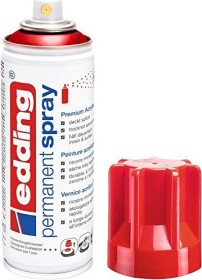 edding 5200 Permanentspray Premium-Acryllack verkehrsrot glänzend (4-5200952)