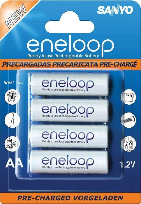 Panasonic eneloop Mignon AA NiMH rechargeable battery 2000mAh, 4-pack (HR-3UTG-4BP)