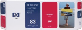 HP Tinte 83 UV magenta (C4942A)