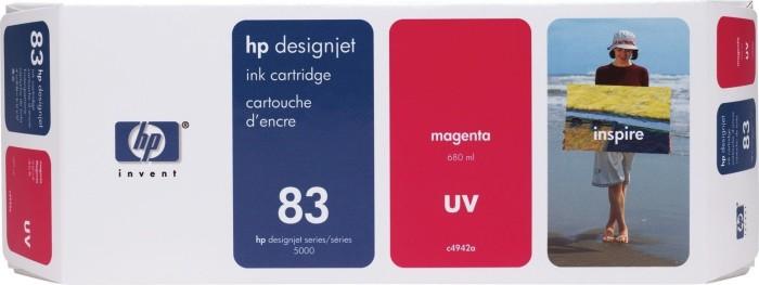 HP 83 Tinte UV magenta (C4942A)