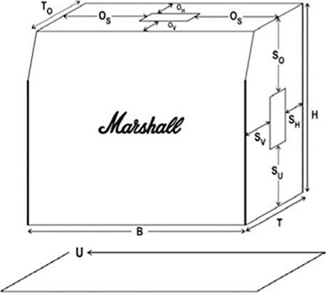 Marshall AmpCover diverse Schutzhüllen für Verstärker -- via Amazon Partnerprogramm