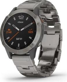 Garmin Fenix 6 Saphir titanium/vented titanium (010-02158-23)
