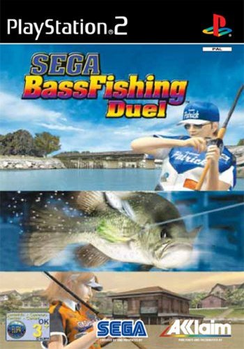Sega Bass Fishing Duel (German) (PS2) -- via Amazon Partnerprogramm
