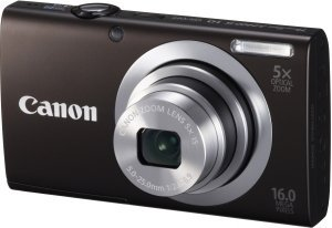 Canon PowerShot A2400 IS black (6188B012)