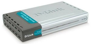 D-Link DP-300U print server, 2x parallel/USB 1.1