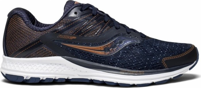 60ed4f8e650f Saucony Ride 10 navy denim copper (ladies) (S10373-30) starting from ...