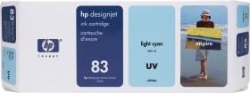 HP Tinte 83 UV cyan hell (C4944A)