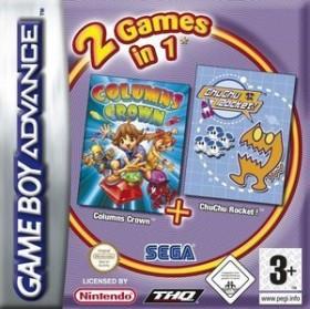 2 Games in 1 - Columns & Chu Chu Rocket (GBA)