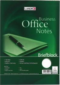 Landré Briefblock Office A4 blanko, 100 Blatt (100050197)