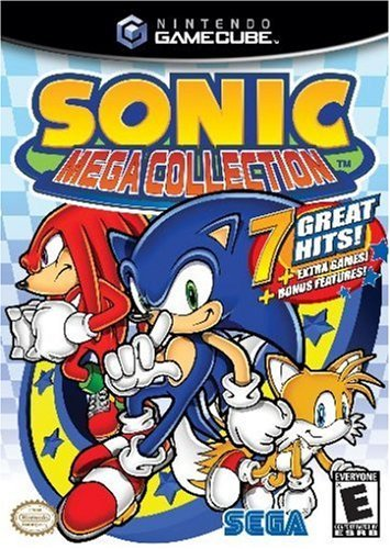 Sonic Mega Collection (niemiecki) (GC) -- via Amazon Partnerprogramm