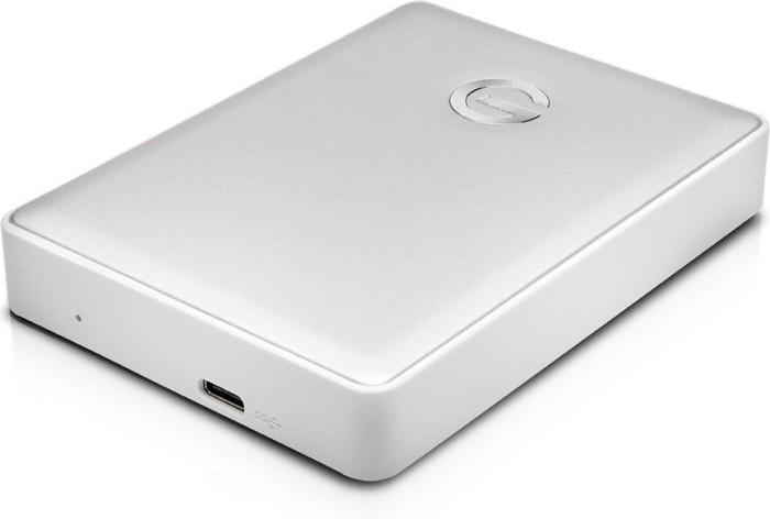 G-Technology G-Drive Mobile USB-C silver 4TB, USB-C 3.0 (0G10348/GDMUCWWE40001ADBV2)
