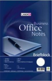 Landré Briefblock Office A4 liniert, 100 Blatt (100050198)