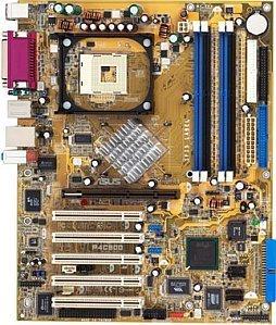 ASUS P4C800, i875P (dual PC-3200 DDR)