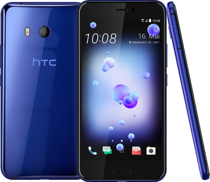 HTC U11 Single-SIM 64GB/4GB blau