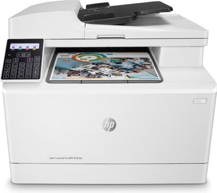 HP Color LaserJet Pro MFP M181fw, Farblaser (T6B71A)