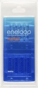 Sanyo eneloop combination pack 4x Mignon AA NiMH rechargeable battery 2000mAh/4x Micro AAA NiMH rechargeable battery 800mAh, 8-pack (HR-3UTG-4UTG-8BP)