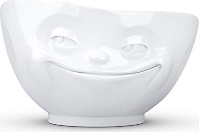 Grinsend Gesicht  Müslischale  Fiftyeight Porzellan 500 ml  mehr da