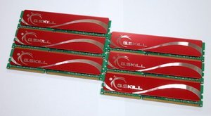 G.Skill Value DIMM kit 12GB, DDR3-1333, CL9-9-9-24 (F3-10666CL9T2-12GBNQ)