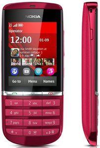 Nokia Asha 300 mit Branding