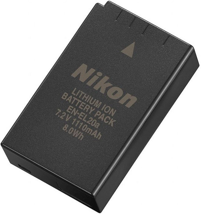 Nikon EN-EL20a Li-Ionen-Akku (VFB11601)