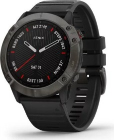 Garmin Fenix 6X Saphir carbon grey dlc/black (010-02157-11)