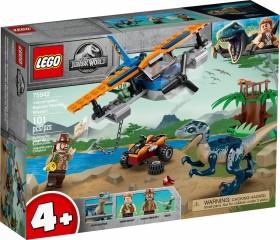 LEGO Jurassic World - Velociraptor: Rettungsmission mit dem Doppeldecker (75942)
