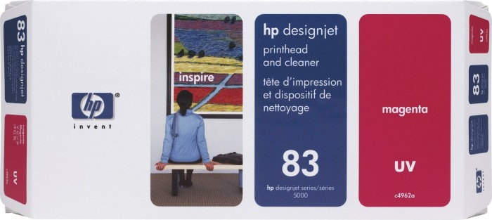HP 83 Printhead UV magenta (C4962A)