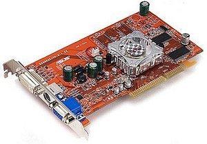 ASUS A9550/TD, Radeon 9550 64bit, 128MB DDR, DVI, TV-out, AGP (90-C1VCR1-GUAYZ)