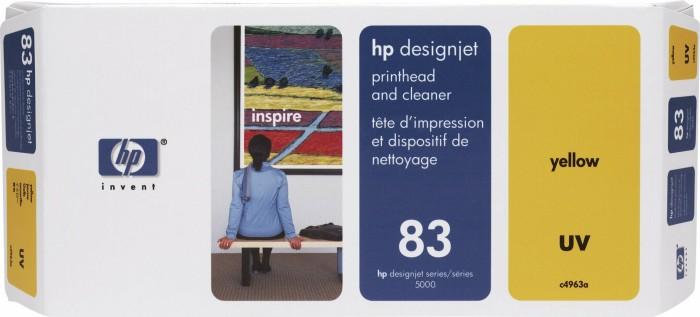 HP 83 Druckkopf UV gelb (C4963A)