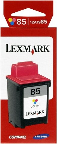 Lexmark 85 Printhead with ink coloured (12A1985) -- via Amazon Partnerprogramm