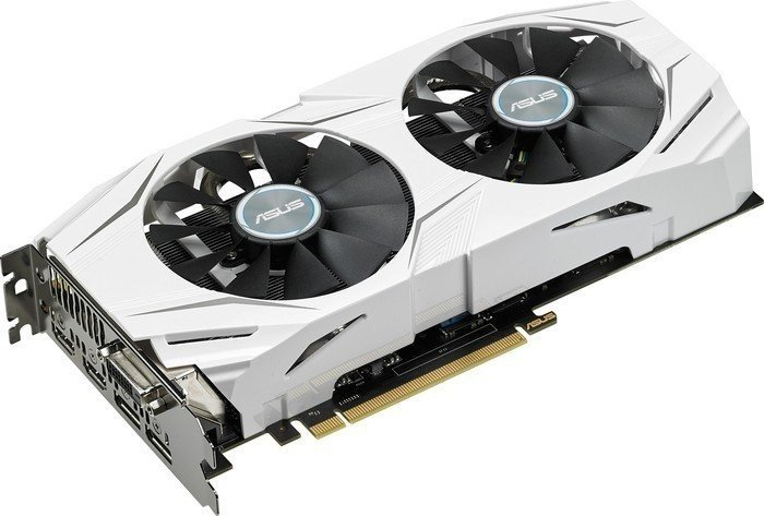 ASUS Dual Radeon RX 480 OC, DUAL-RX480-O4G, 4GB GDDR5, DVI, 2x HDMI, 2x DisplayPort (90YV09I0-M0NA00)
