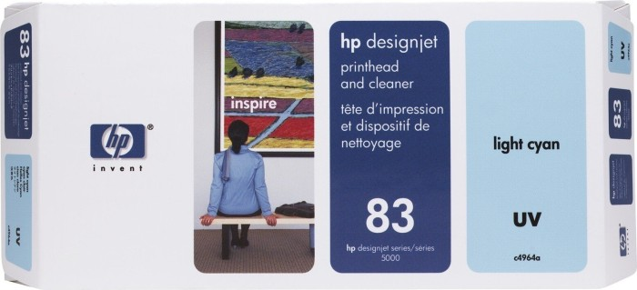 HP 83 Druckkopf UV cyan hell (C4964A)
