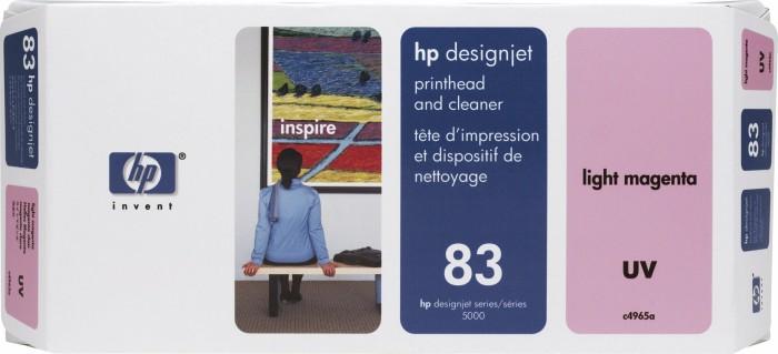 HP 83 Druckkopf UV magenta hell (C4965A)