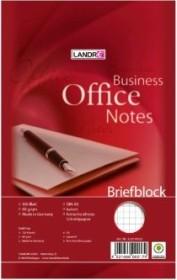 Landré Briefblock Office A5 kariert, 100 Blatt (100050204)